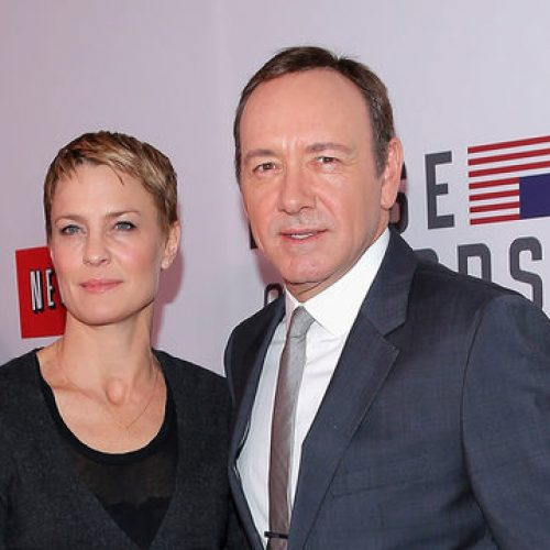 """I Didn't Know The Man."" Robin Wright Breaks Silence On 'House of Cards' Costar Kevin Spacey"