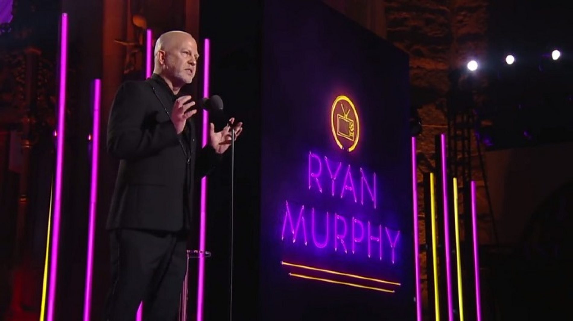 Ryan Murphy accepts Trailblazer Honor with inspiring speech