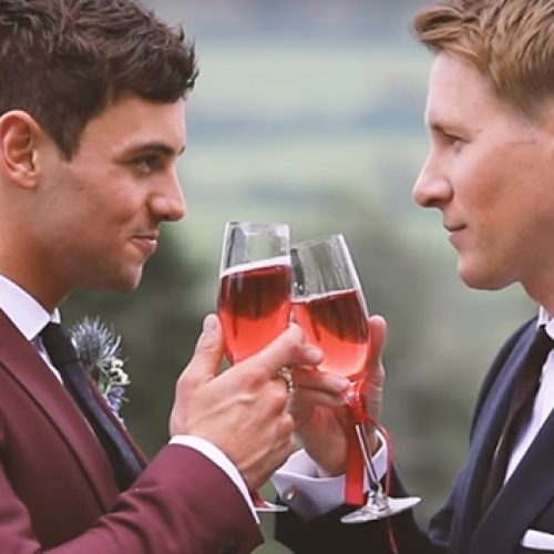 Tom Daley and husband Dustin Lance Black share the news of the arrival of their son