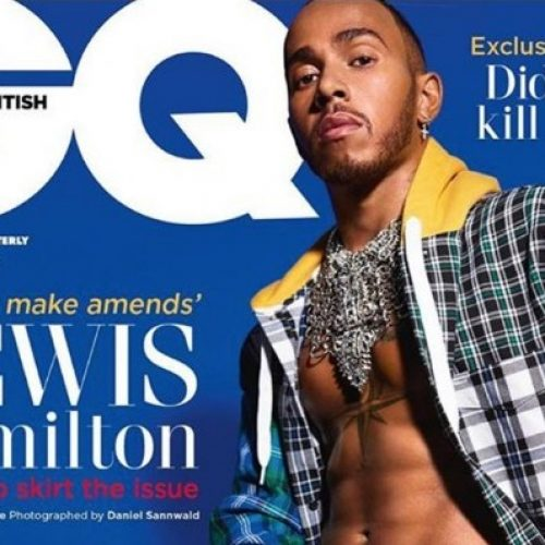 """I Still Regret It."" Lewis Hamilton wears kilt to ""make amends"" for mocking his nephew when he wore a dress"