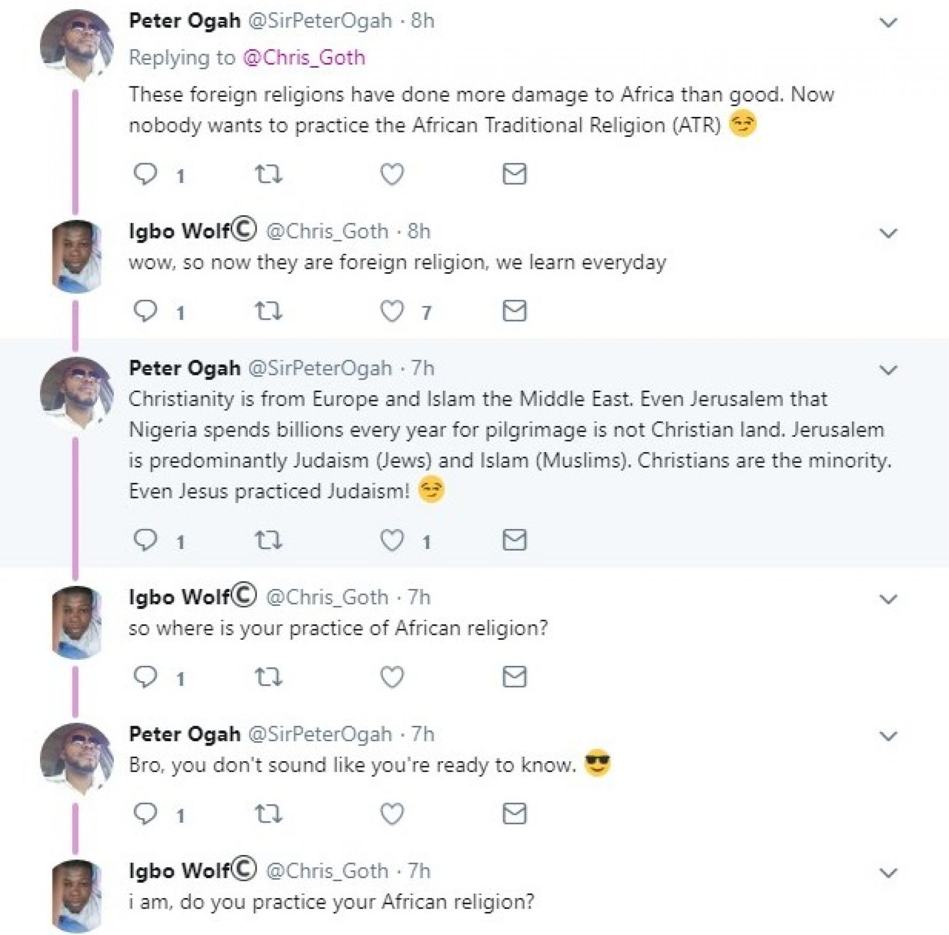 Twitter user shows proof that Nigerians are largely hypocrites