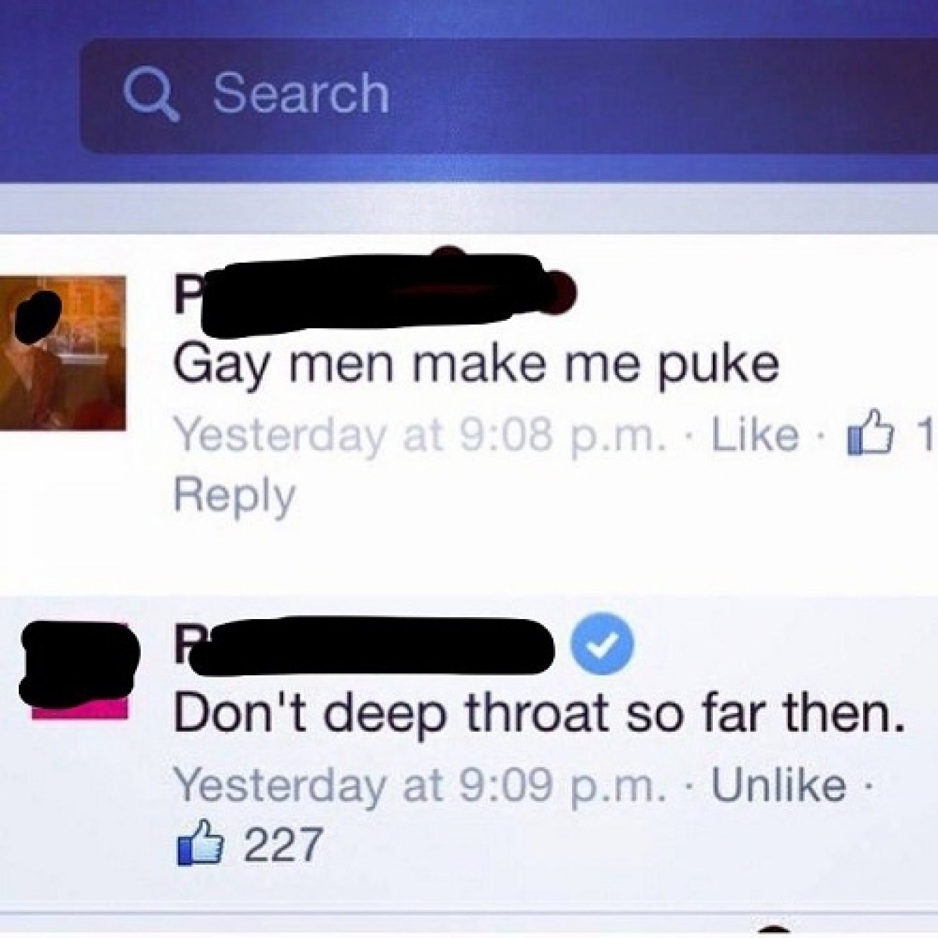10 most satisfying clapbacks at homophobes in internet history
