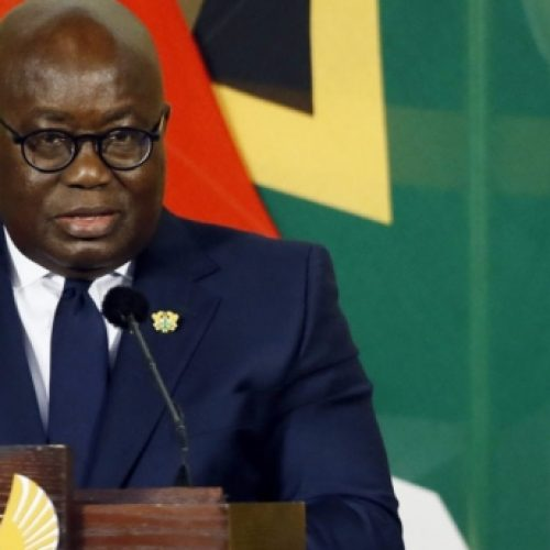 Ghanaian president, Nana Akufo-Addo reassures church leaders that he won't decriminalise homosexuality