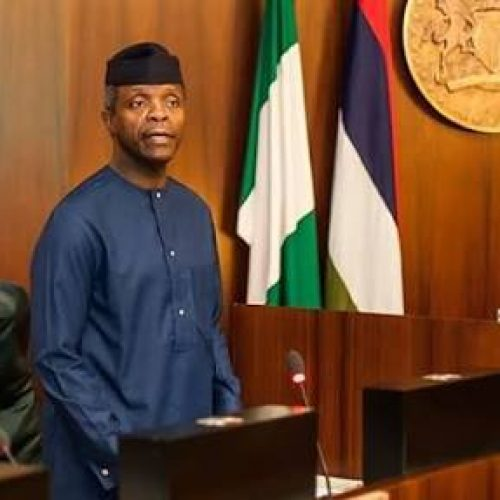 #EndSARS: Acting President Yemi Osinbajo orders the 'overhaul' of notorious anti-robbery unit