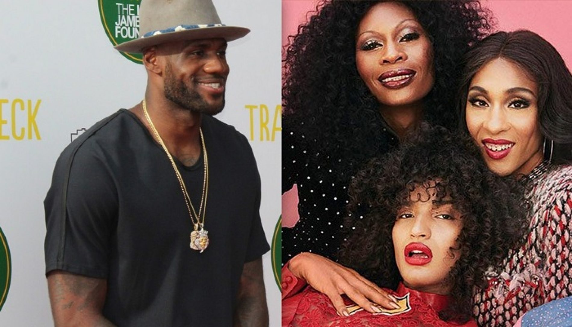 LeBron James thanks the Trans Cast of 'Pose' for being Inspirational Women