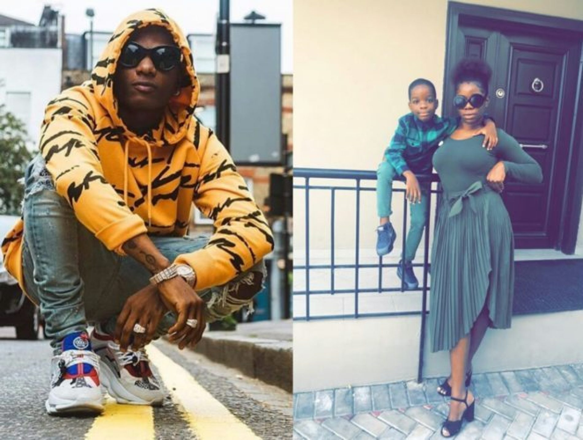 """""""You Tell Your Son To Touch Other Women's Breasts Just To Be Sure He's Not Gay."""" Wizkid's baby mama Oluwanishola opens can of worms about singer"""