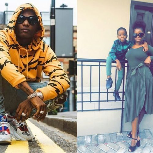"""You Tell Your Son To Touch Other Women's Breasts Just To Be Sure He's Not Gay."" Wizkid's baby mama Oluwanishola opens can of worms about singer"