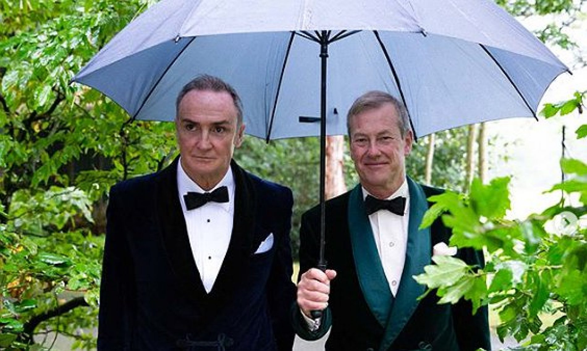 """We Did It Finally."" Newlywed Lord Mountbatten declares following the First Ever Gay Royal Family Wedding"