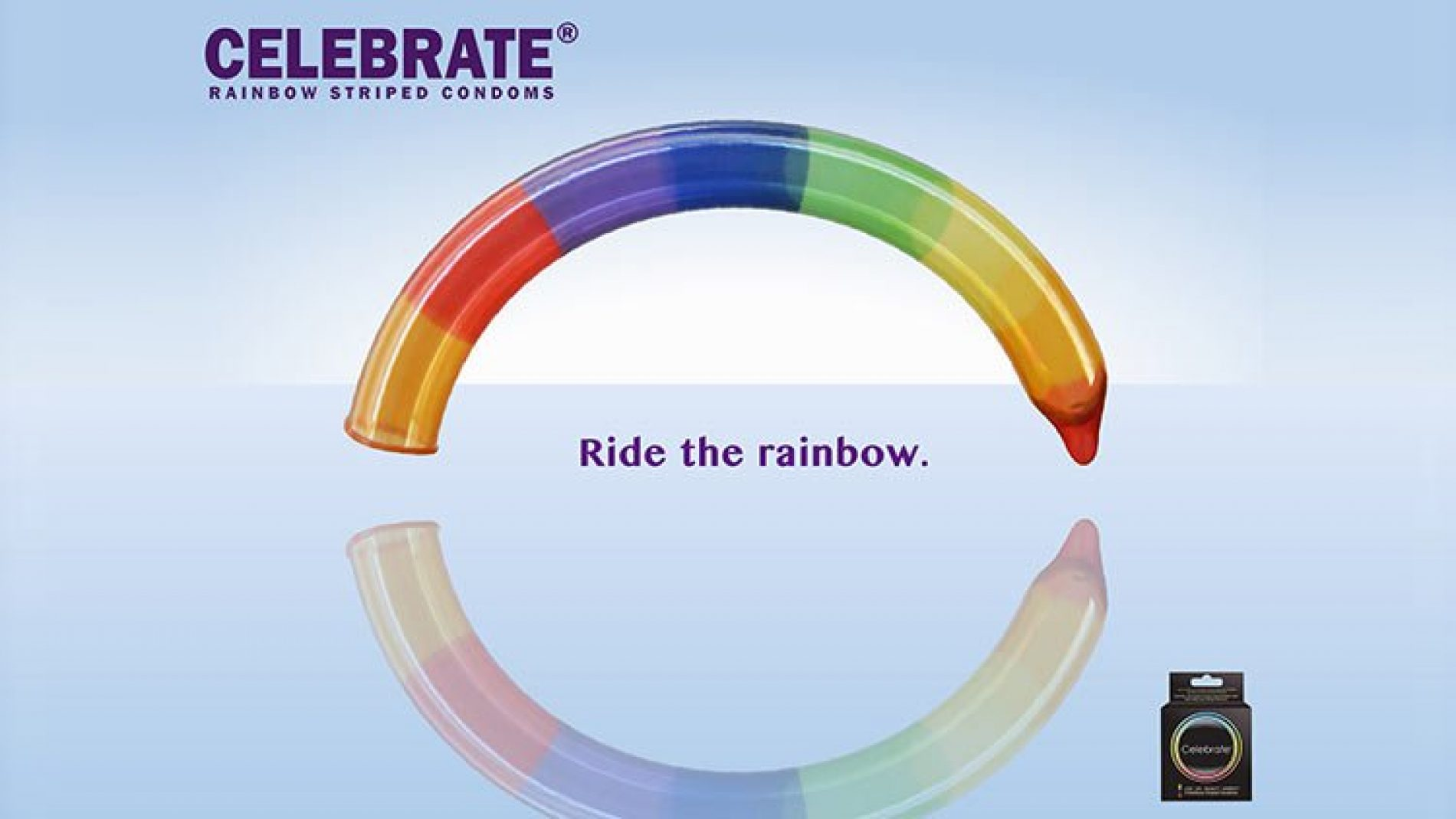 """""""Ride The Rainbow."""" The Rainbow Condom Ad Is Hilarious (and Raunchy) AF"""