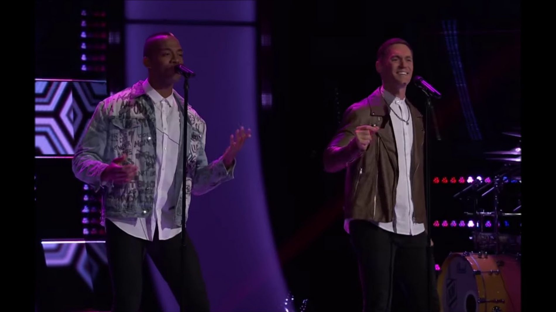 Gay Couple wows the Coaches at 'The Voice' Blind Auditions