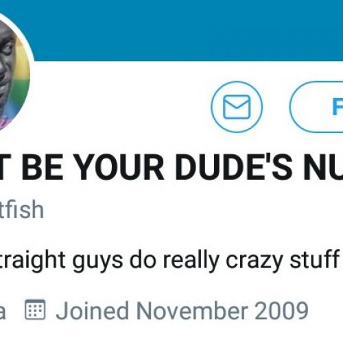 Someone Is On Twitter Acting Like A Crusader Against Straight Men And Impersonating Kito Diaries As Well