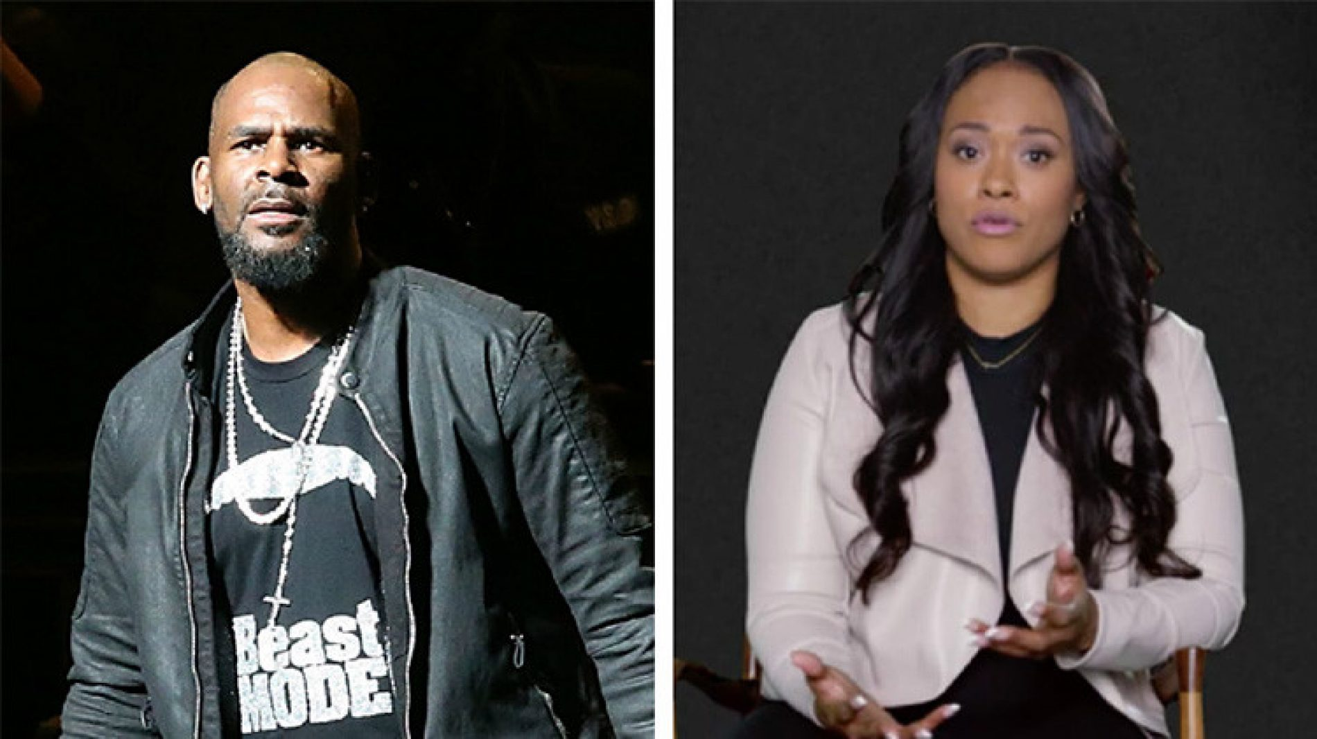 """R. Kelly's ex-girlfriend insinuates he might be """"into boys"""" because he """"likes penetration"""" in the bedroom"""