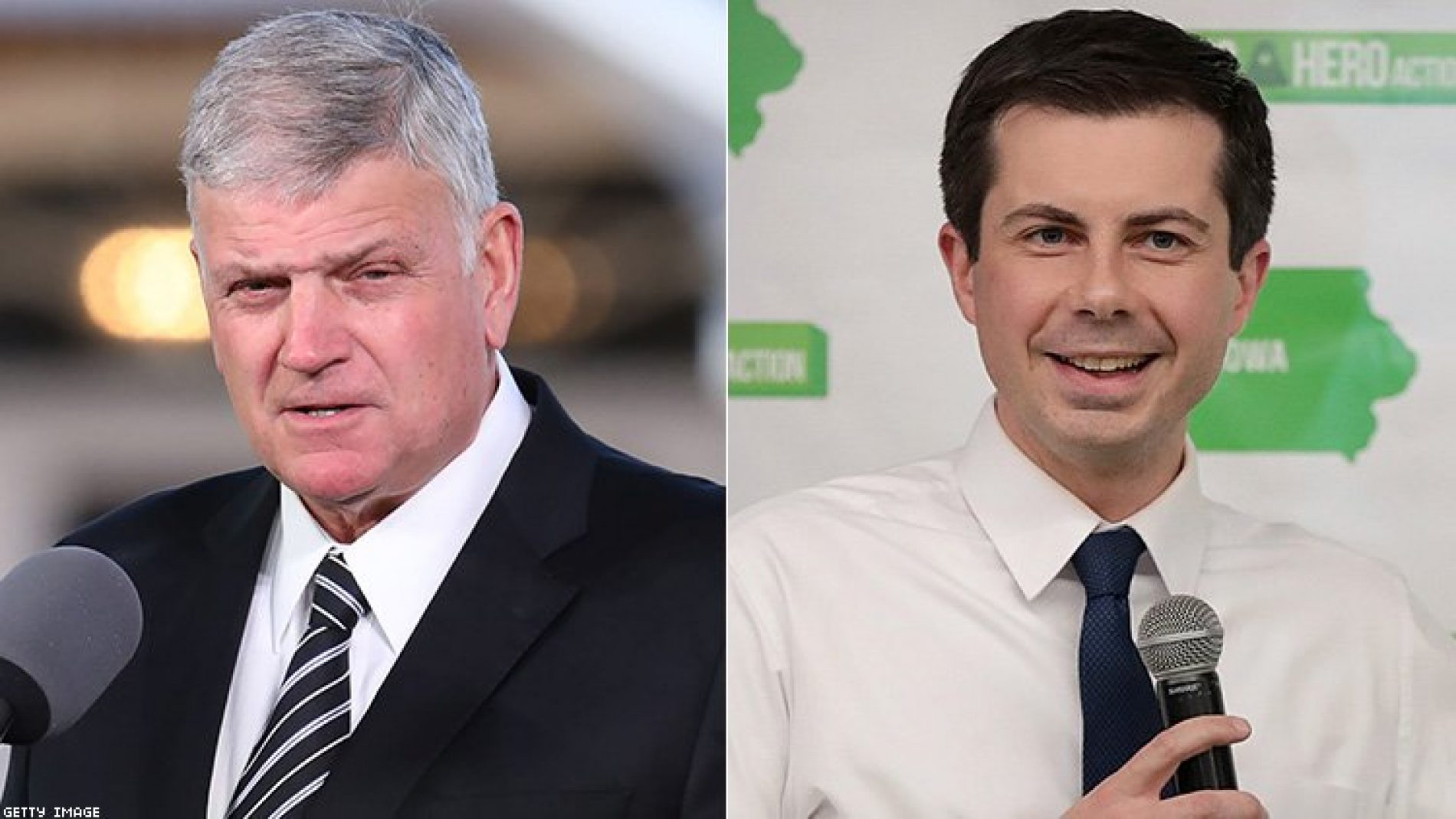 Franklin Graham gets told off on his hypocrisy over his rebuke of Pete Buttigieg