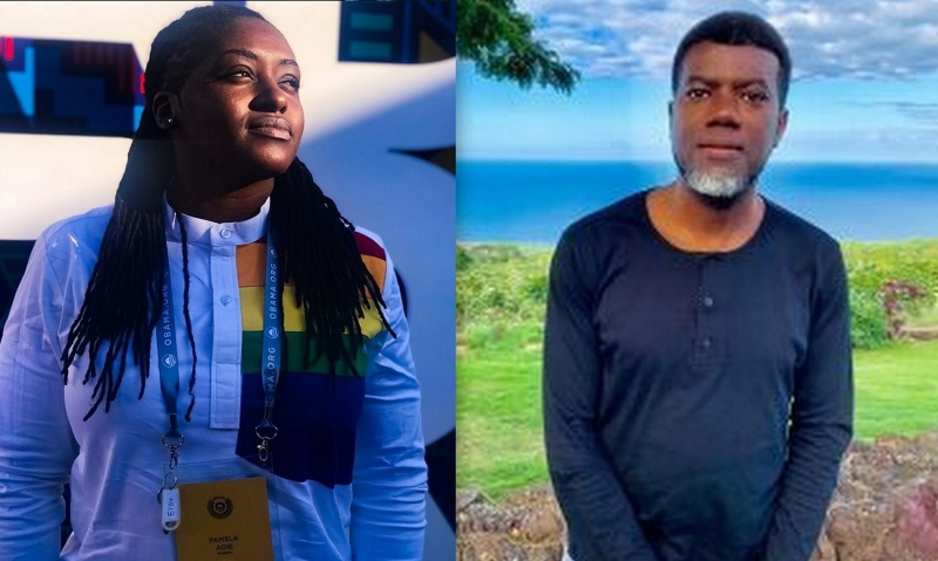 Pamela Adie claps back at Reno Omokri with a teachable moment