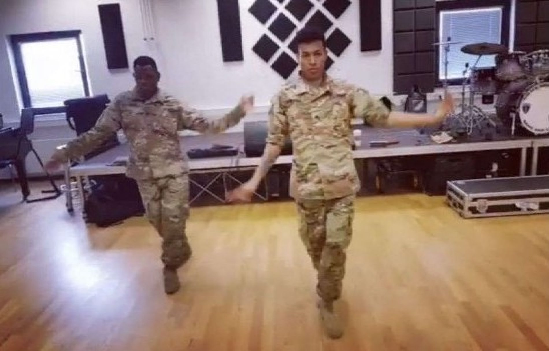 US soldiers slay Todrick Hall's new queer anthem in viral video