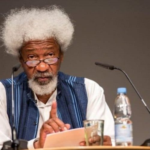 """What's your business with what happens with consenting adults?"" Wole Soyinka takes aim at Homophobia in Nigeria"