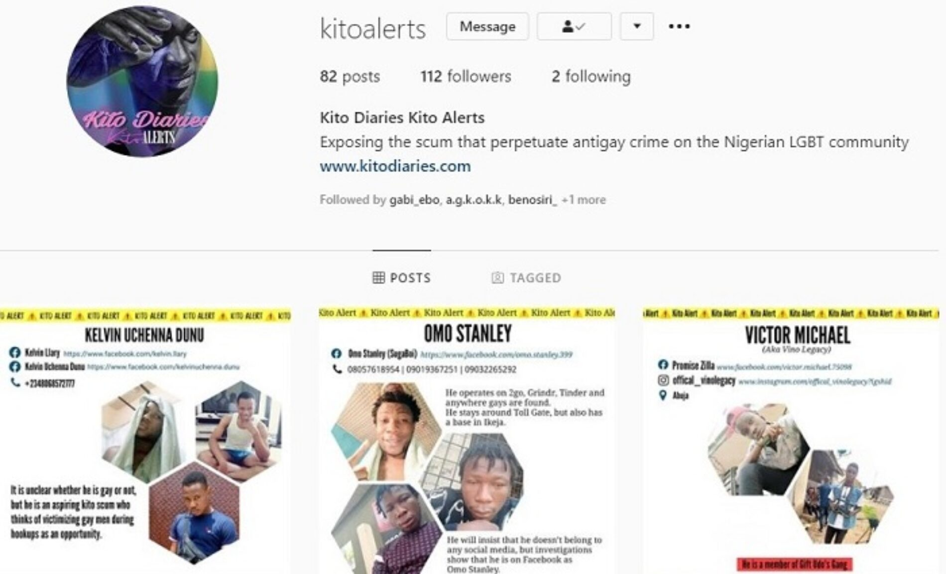 We Now Have Social Media Accounts Dedicated To Publishing Just Kito Alerts For Easier Access