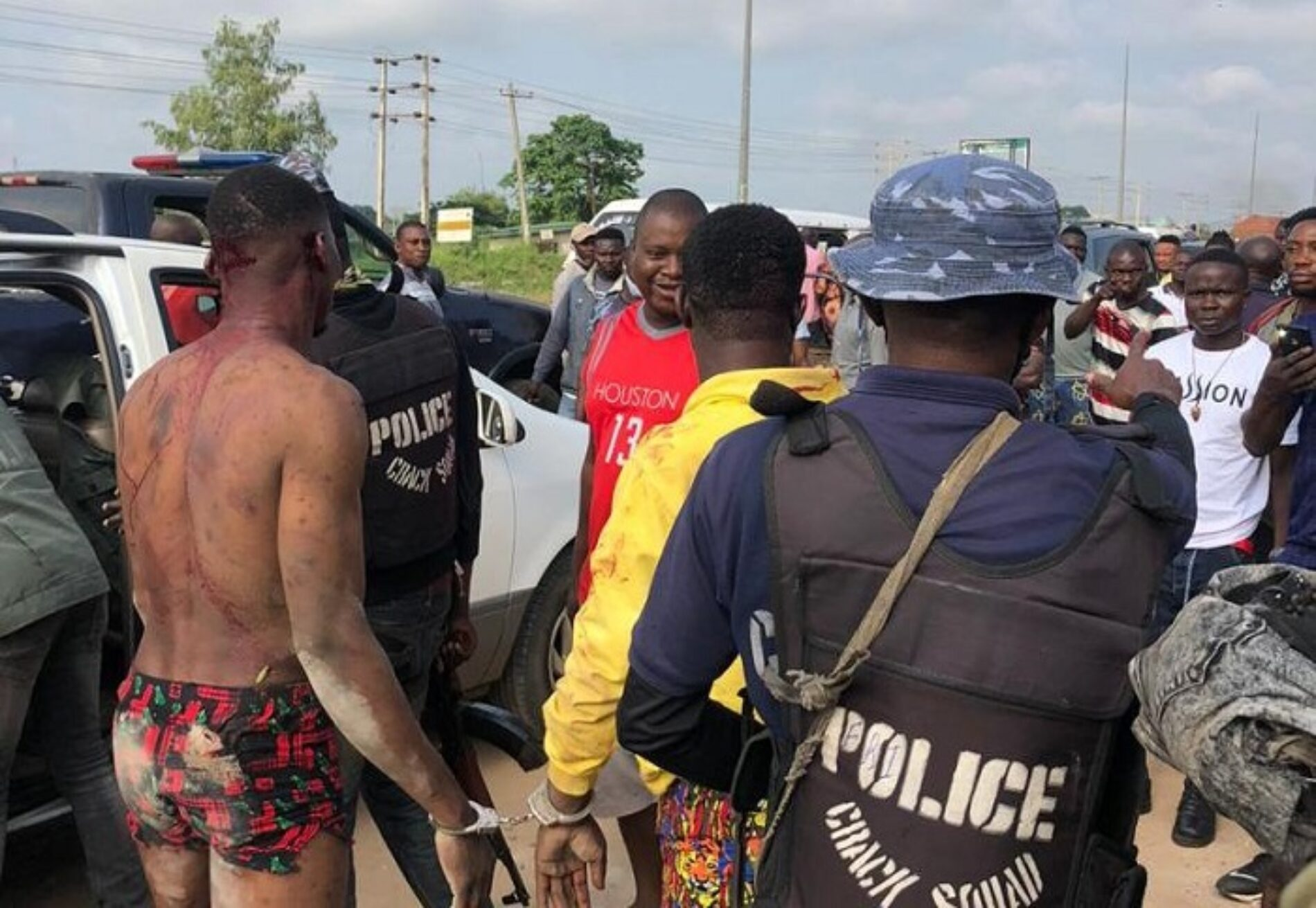 Kito Perpetrators Apprehended And Brutalized In Asaba