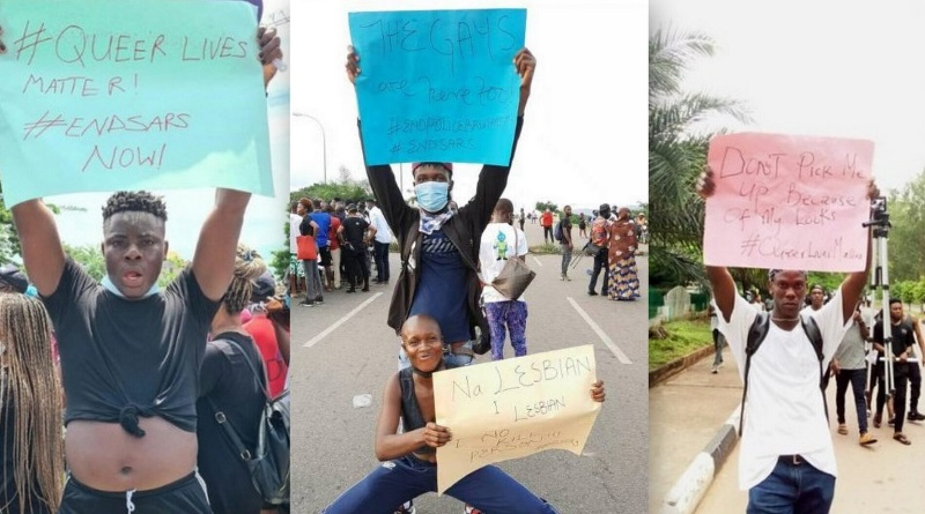 #QueerNigerianLivesMatter: Queer Nigerians Were Allegedly Attacked By Fellow #EndSARS Protesters In Abuja