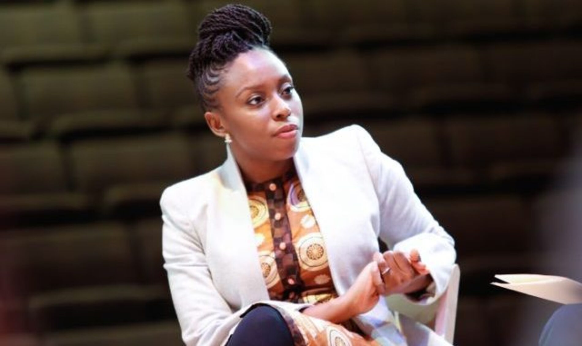 "Chimamanda Ngozi Adichie Says Of President Buhari: ""He Acts Like Engaging Nigerians Is Beneath Him."""