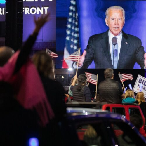 President-Elect Joe Biden name-checks gay and transgender Americans in victory speech