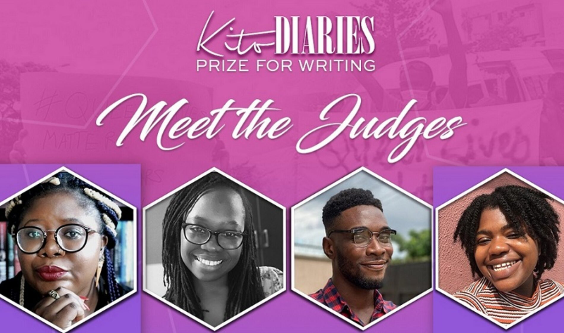 KITO DIARIES PRIZE FOR WRITING: MEET THE JUDGES