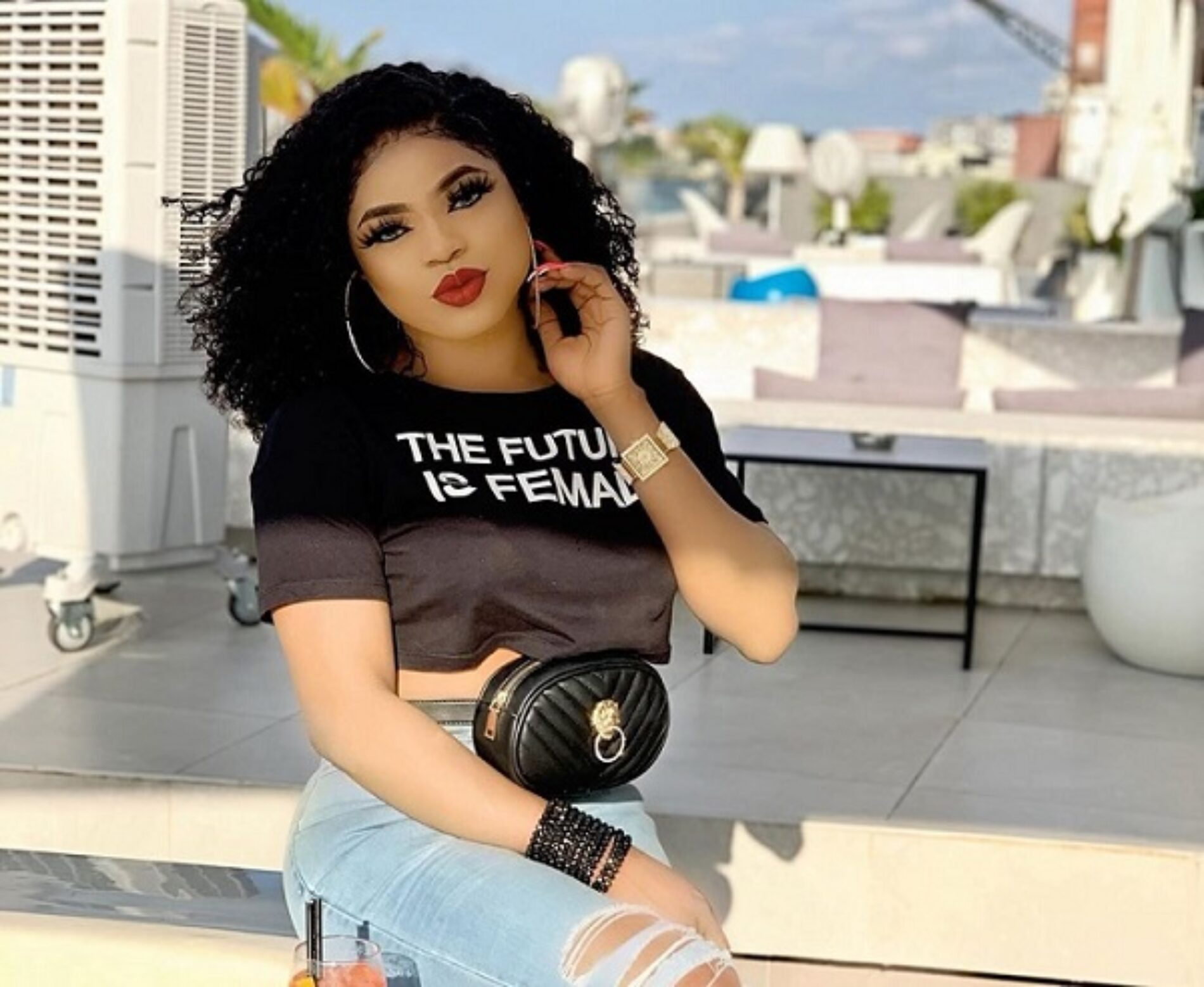 """""""I Was Formally A Man."""" Bobrisky may have clarified (once again) that she is transgender"""