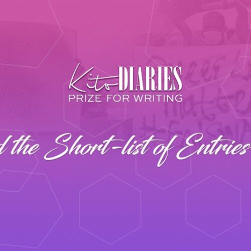 KITO DIARIES PRIZE FOR WRITING: AND THE SHORTLIST OF ENTRIES ARE…