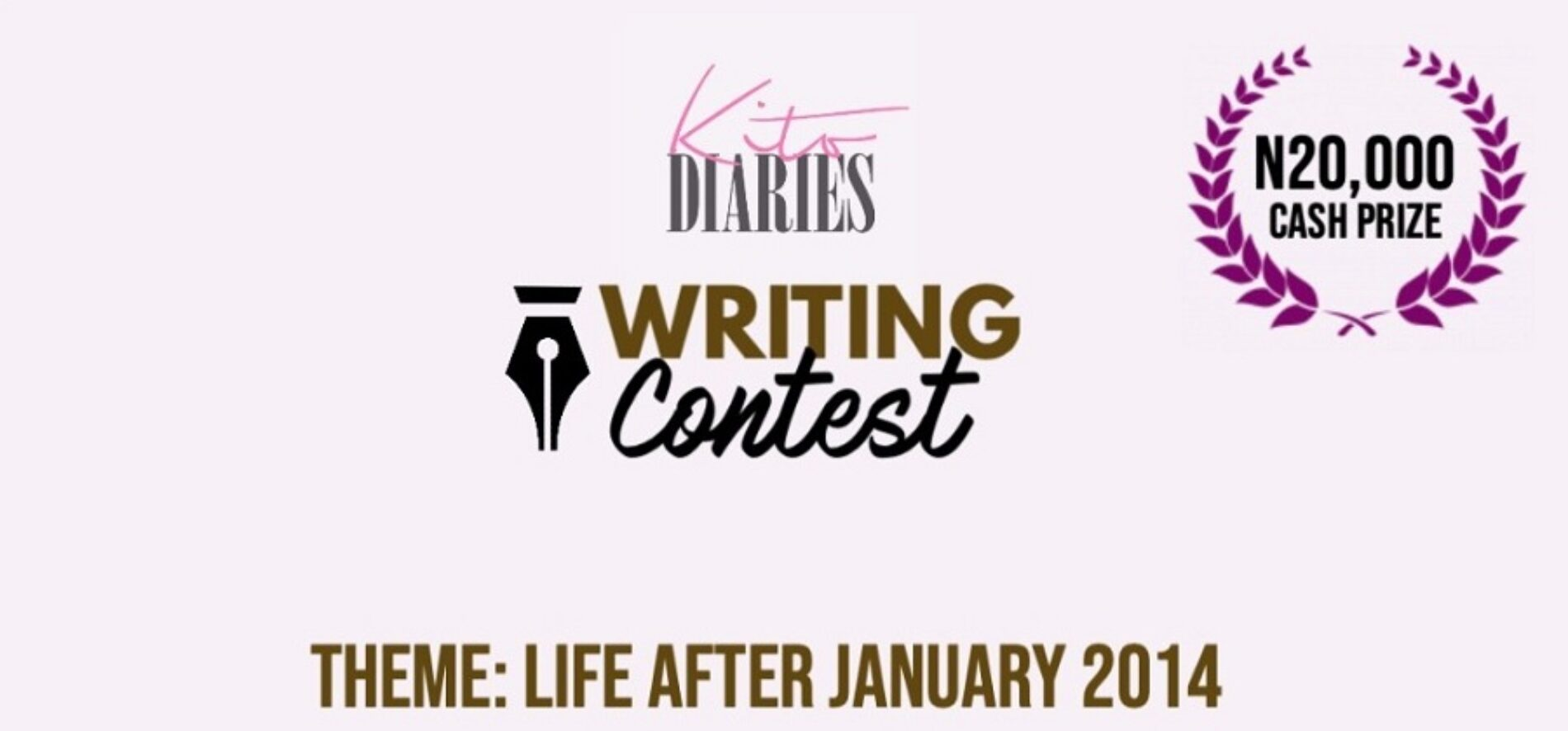 THE WINNERS OF THE ANNIVERSARY WRITING COMPETITION ARE…