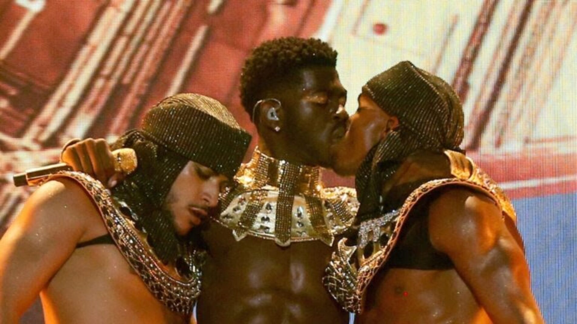 Lil Nas X Fires Back At Criticism Over Him Kissing Male Dancer at BET Awards