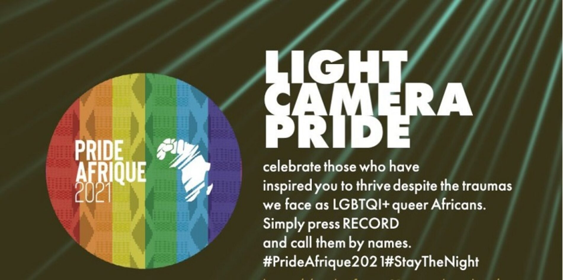 Pride Afrique 2021 Is Here, And We Want To Know About Who Inspires You